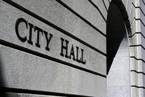 city hall building, social security