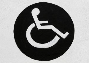 disabled sign, social security